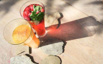 Frisse zomerdrankjes! *alcoholvrij