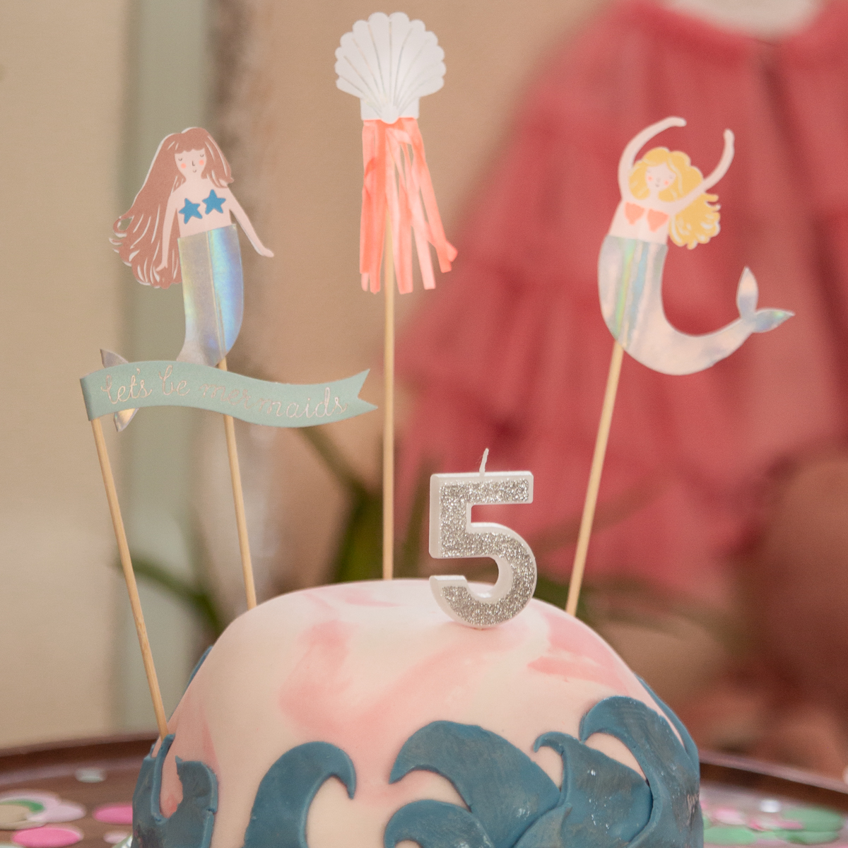zeemeerminnen taartje