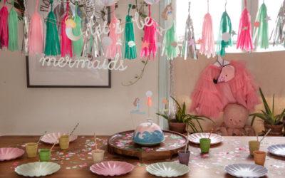 Zeemeermin Kinderfeestje thuis vieren! Inspiratie en tips.